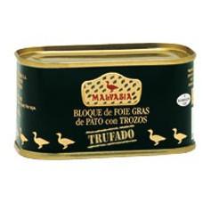 Bloque foie trufado con trozos Malvasia 130 gr.