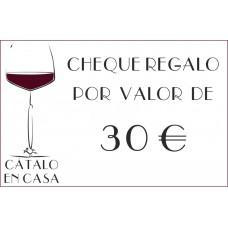 Tarjeta de Regalo de 30€